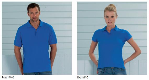 Koszulka 577 Polo Bawełniane Ultimate marki Russell