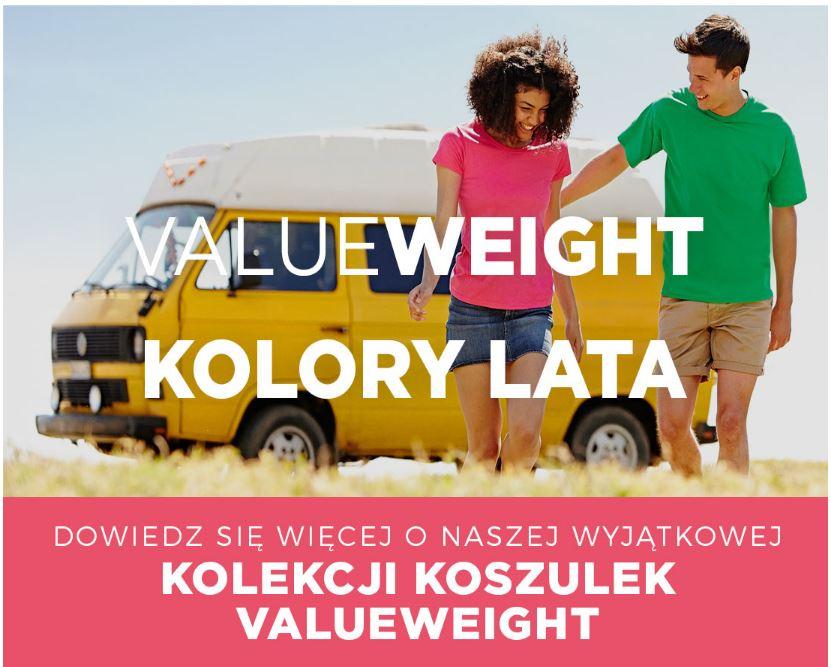 Fruit of the Loom koszulki Valueweight