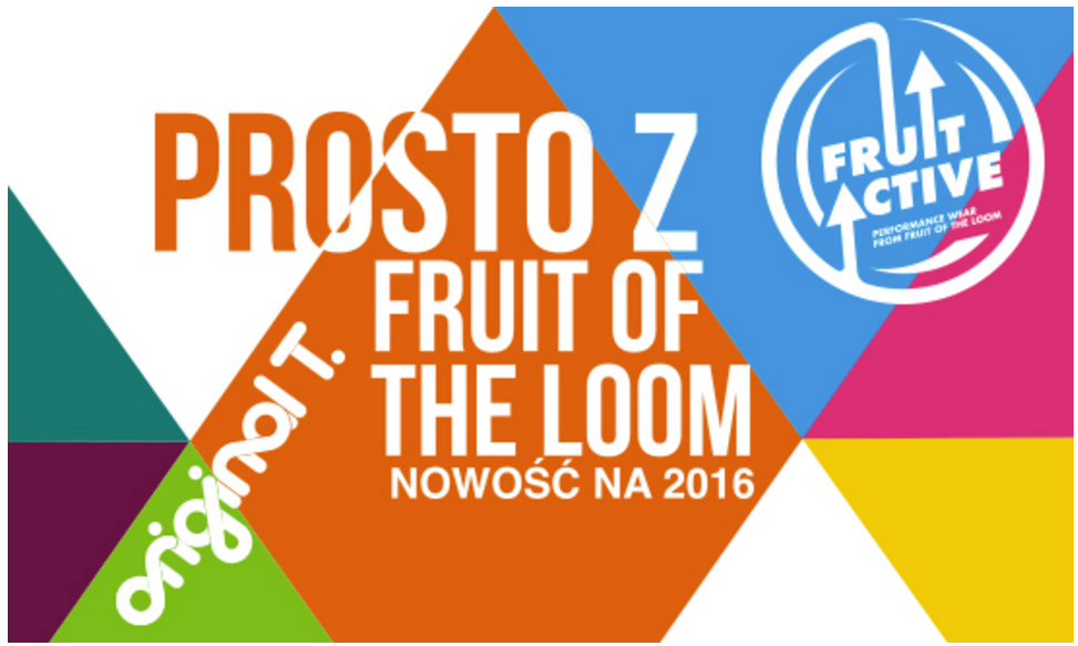 Fruit of the Loom 2016 - Fruit Active