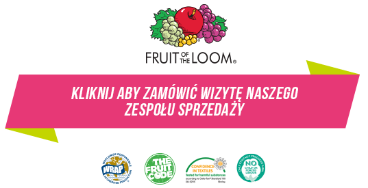Kontakt z Fruit Of The loom