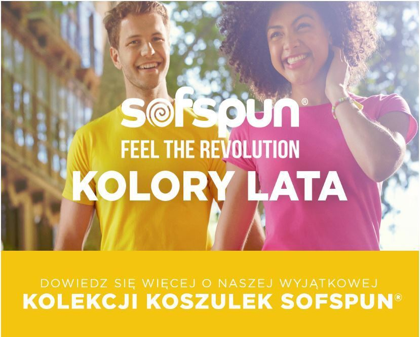 Koszulki Sofspun Fruit of the Loom
