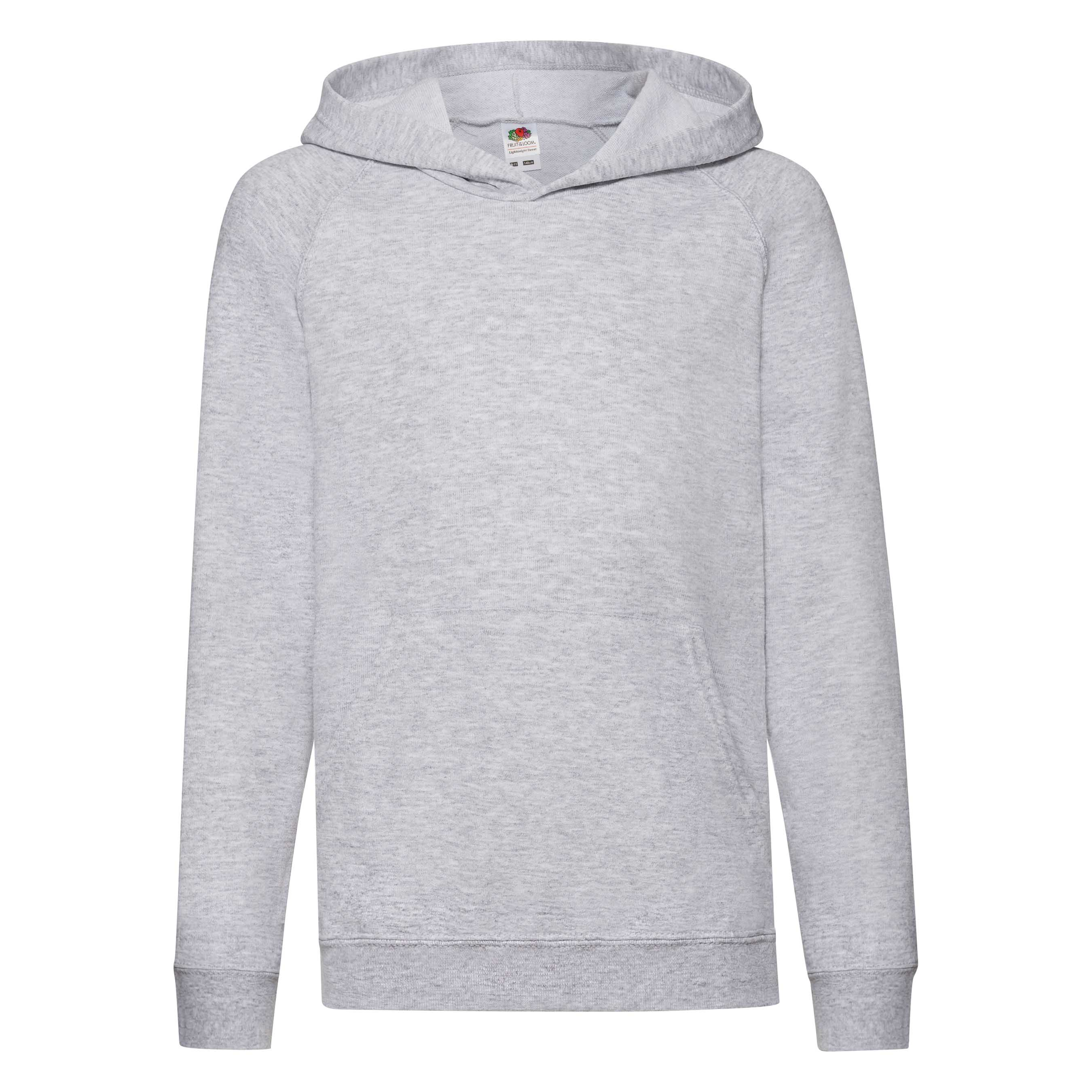 Dziecięca bluza Lightweight Hooded Sweat | Fruit of the Loom