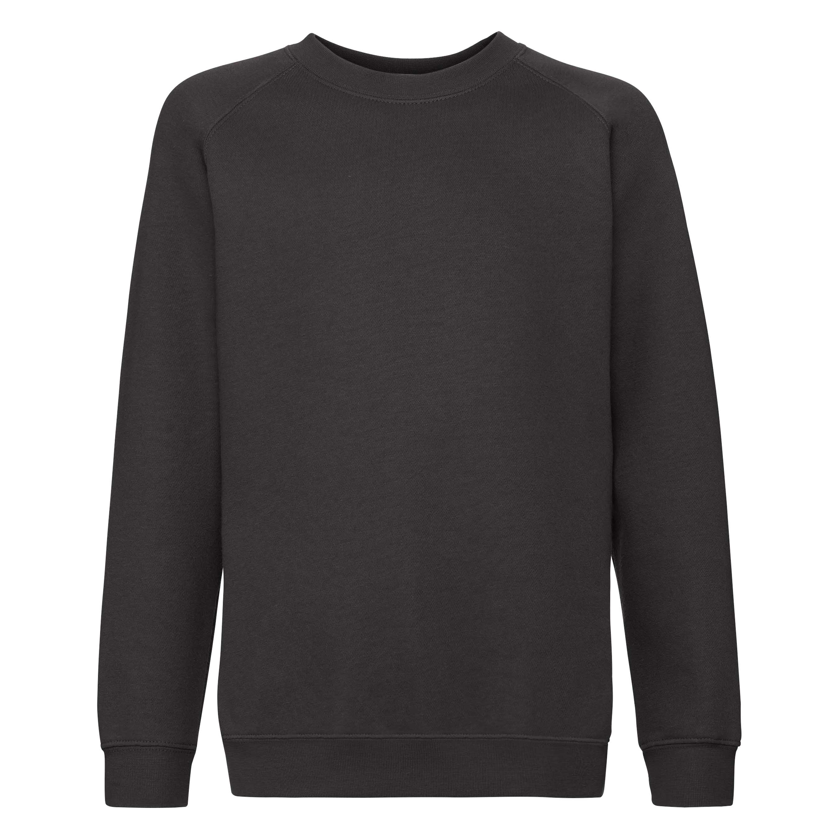 Dziecięca bluza Raglan Sweat Premium | Fruit of the Loom