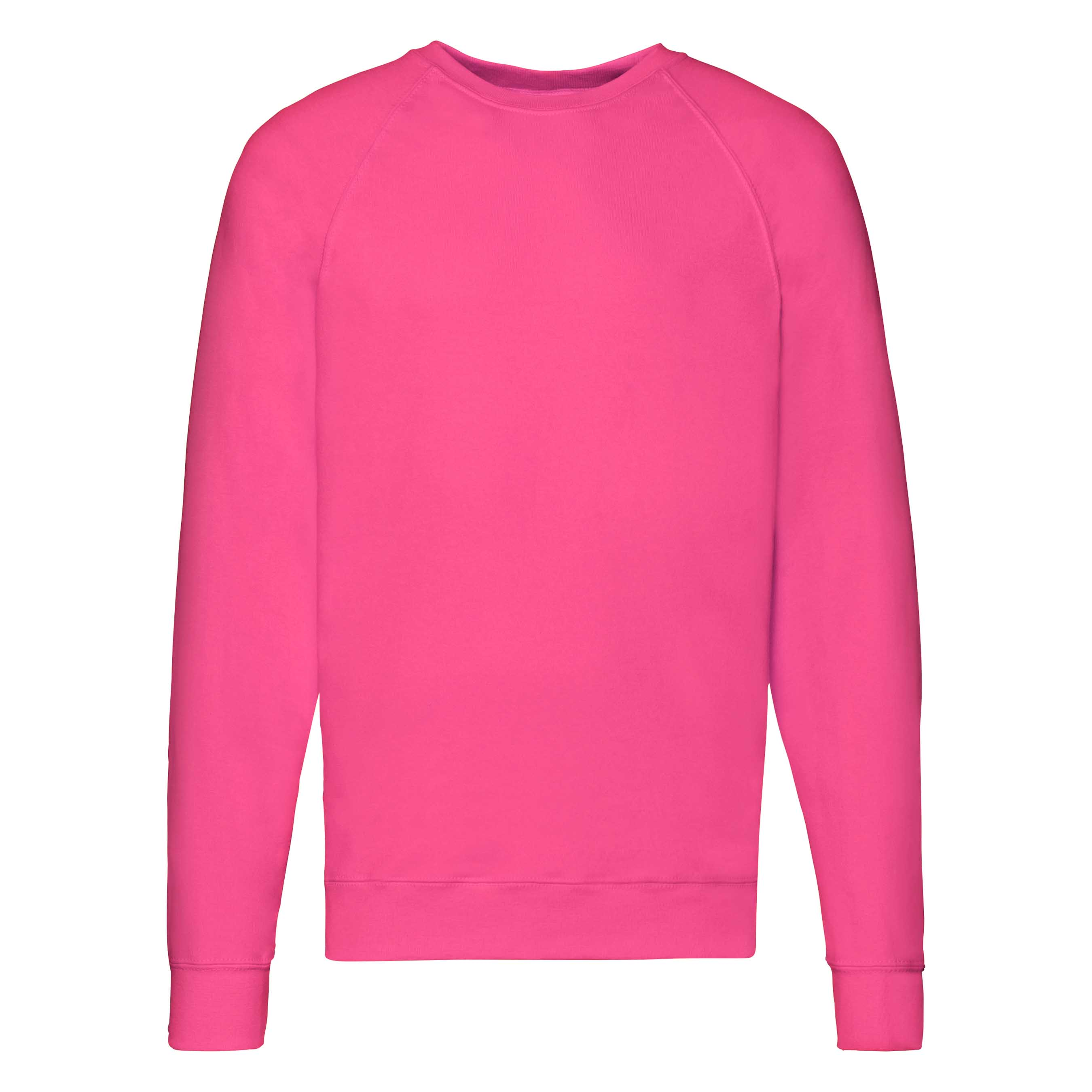 Męska bluza Lightweight Raglan Sweat | Fruit of the Loom