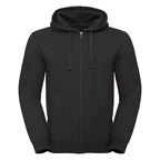 Męska bluza Authentic Melange Zipped Hooded Sweat | Russell