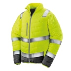 Kurtka odblaskowa Unisex Soft Padded Safety Jacket | Result