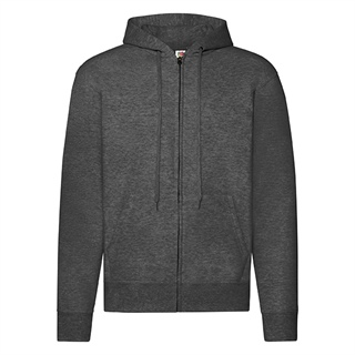 Bluza z kapturem Zip Through Hooded Sweat