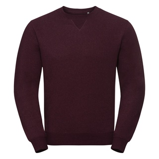 Męska bluza bez kaptura - Authentic Melange Sweat