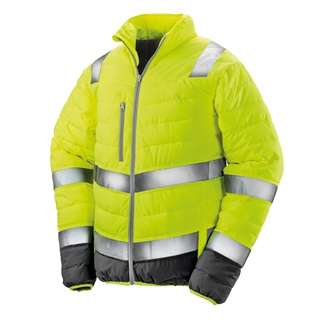 Kurtka odblaskowa Unisex Soft Padded Safety Jacket